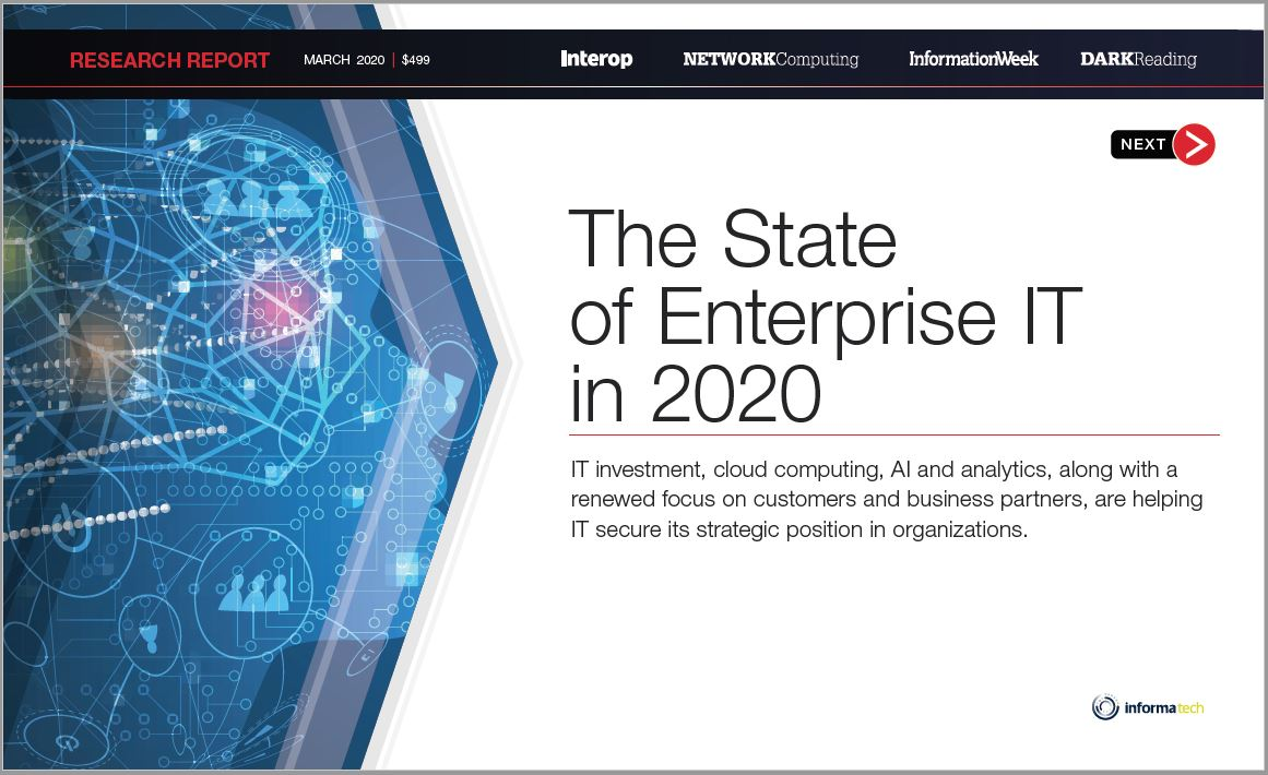 The State of Enterprise IT in 2020 Report